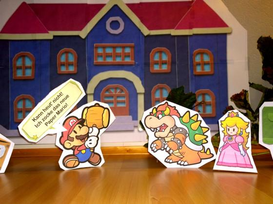 Paper Mario Wettbewerb
