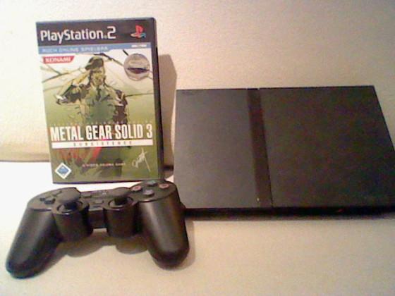 Playstation 2 & Metal Gear Solid 3 Subsistence