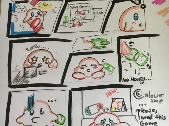 Kirby Comic Beta