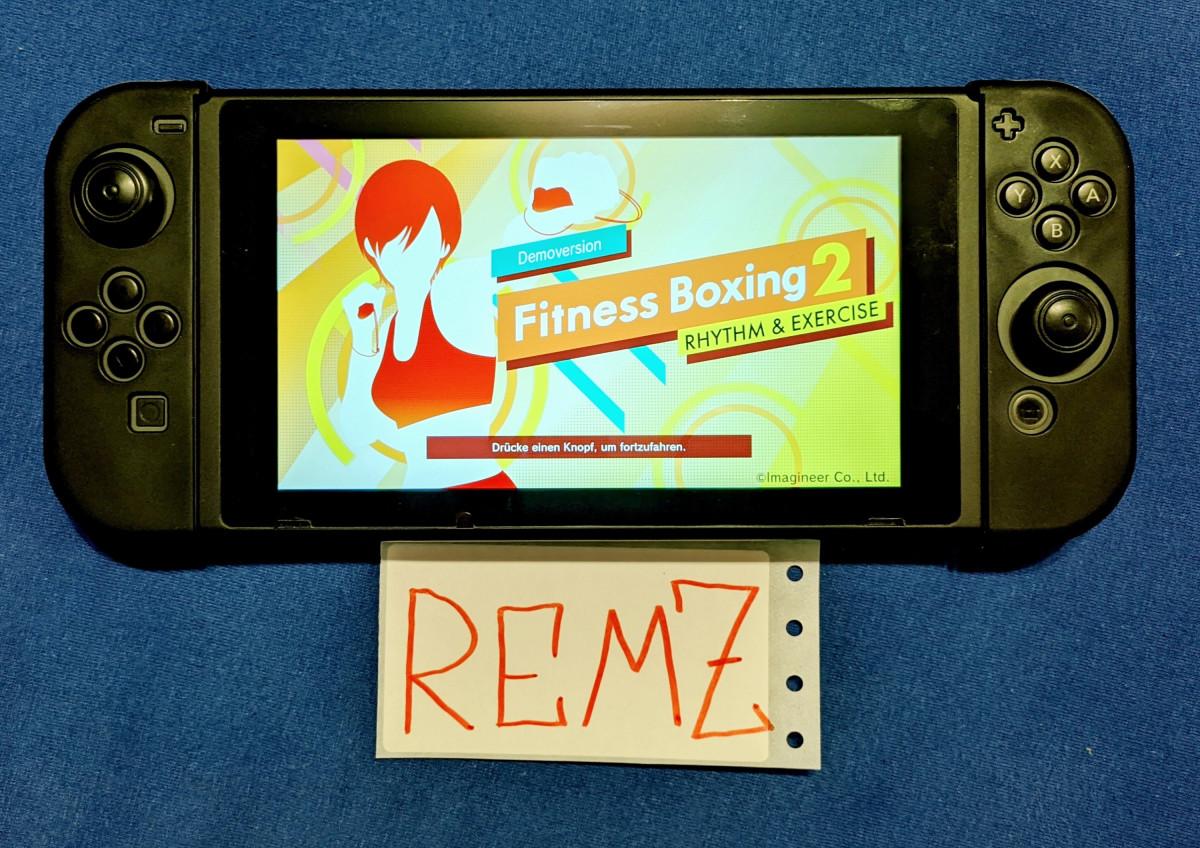 Fitness Boxing Gewinnspiel