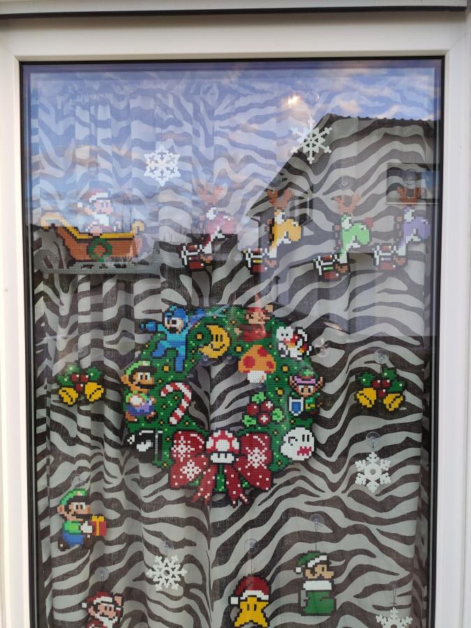 Weihnachtsgewinnspiel obere Ansicht
