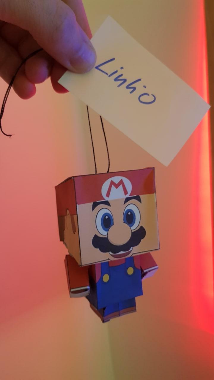 Nintendo Weihnachtsbaumschmuck