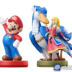 Zelda & Wolkenvogel-amiibo Größenvergleich