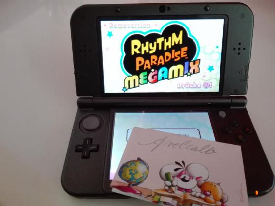 Rhythm Paradise Demo Gewinnspiel