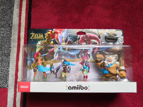 Recken Amiibo