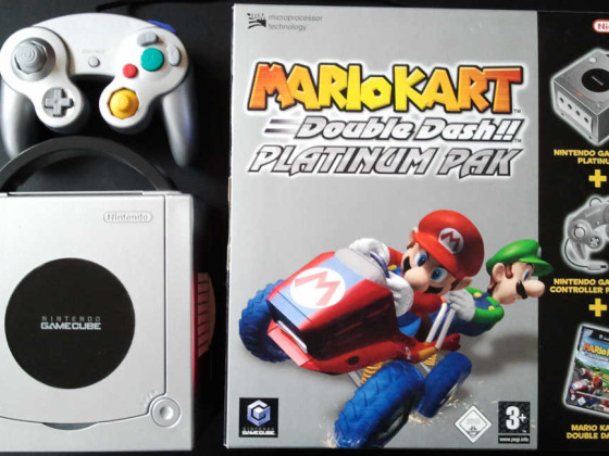 Mario Kart Double Dash!! Platinum PAK
