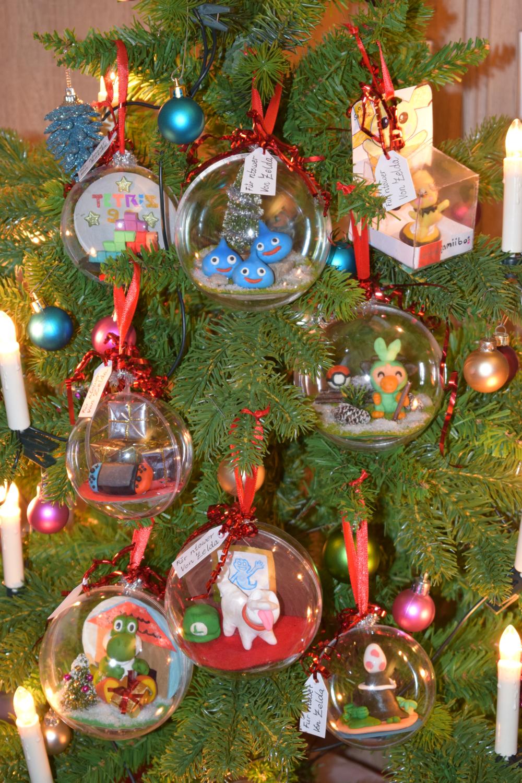 DIY Weihnachtskugeln