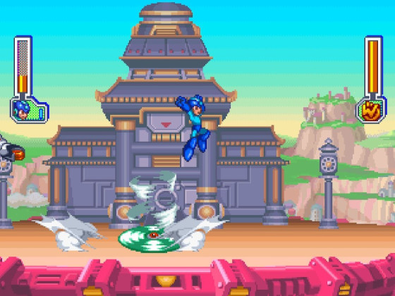 Mega Man 8 Tengu Man 2