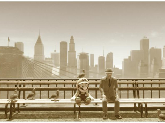 Pause an der New Brooklyn Bridge