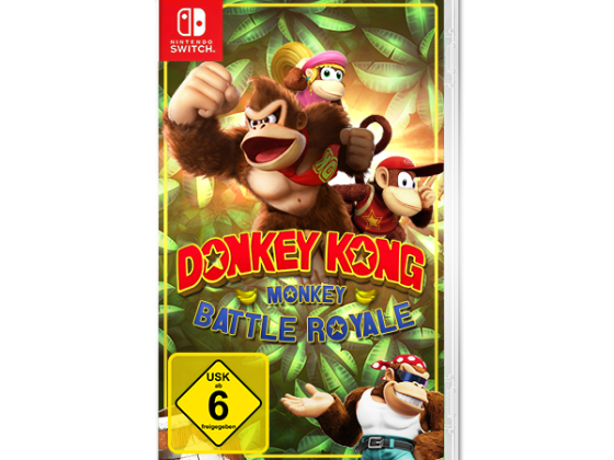 Donkey Kong: Monkey Battle Royale - ntower Gewinnspiel
