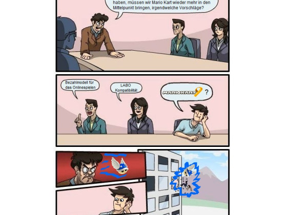 Boardroom-Meeting-Suggestion - Mario Kart