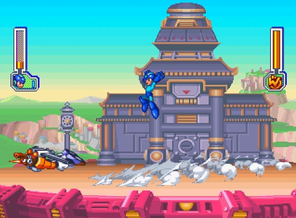 Mega Man 8 Tengu Man 3