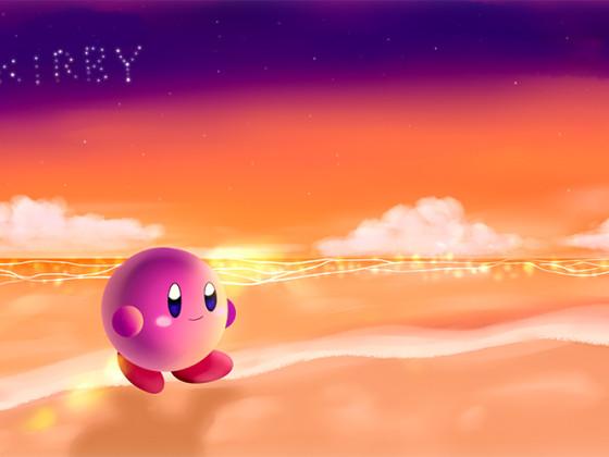 Let's go to the beach ~ Kirby!! ♪