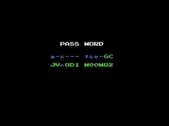 Metroid 1 Passwort