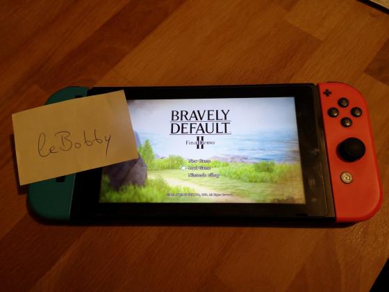 Bravely Default II Demo