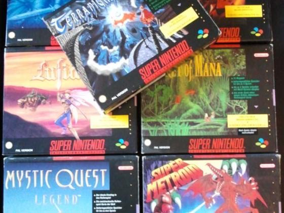 Super Nintendo BigBox-Editionen