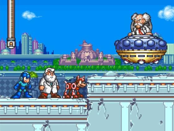 Mega Man 7 Dr. Wilys Flucht