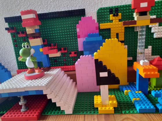TomParis Lego Mario
