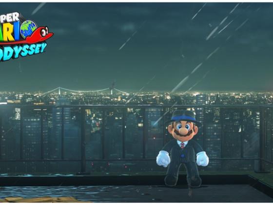 Mario in New Donk City - einer der schönsten Momente in diesem Spiel