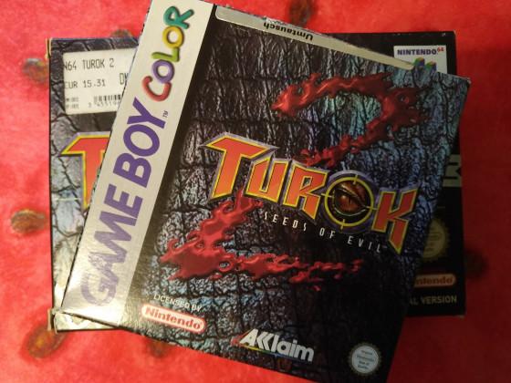 Turok 2 GB BOX
