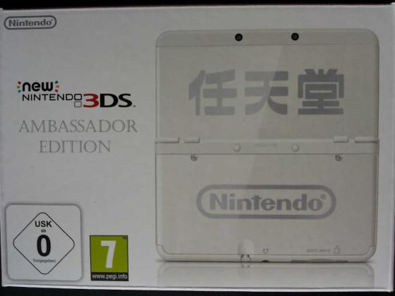 New Nintendo 3DS Ambassador Edition