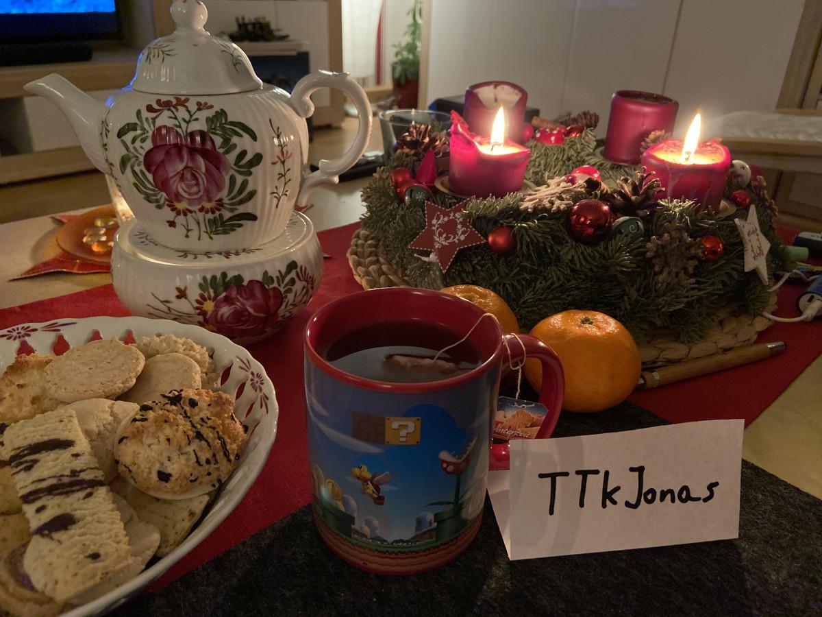 Weihnachtsgemütlichkeit mit meiner Mario Tasse