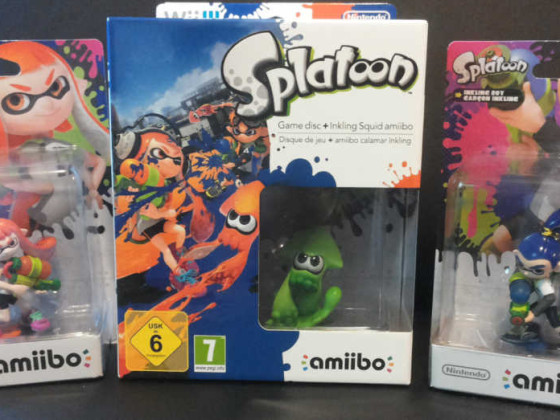 Splatoon amiibo Edition + Splatoon Collection