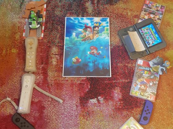 Mario 35. Jubiläum Gewinnspiel