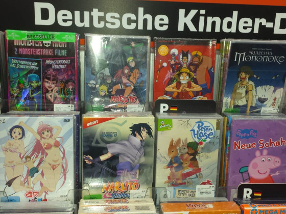 Saturn Deutsche Kinder-DVD