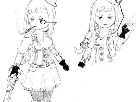 ''Steampunk''- Magnolia (Bravely Second)
