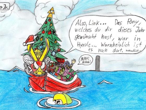 Lieblings-Zeldacharakter unter dem Weihnachtsbaum