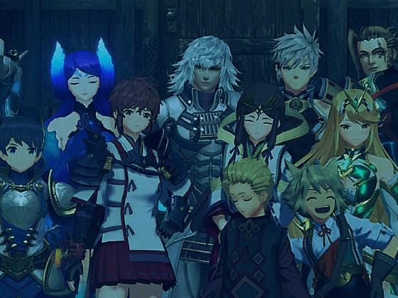 Xenoblade Chronicles 2 Jin Familienfoto