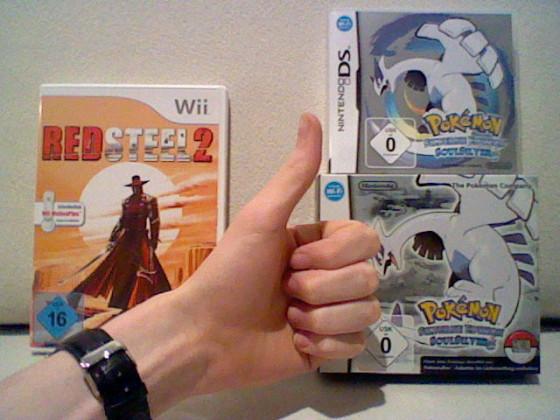 Red Steel 2 & Pokémon SoulSilver