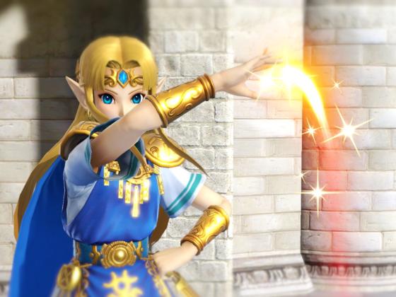 Smash Zelda Signatur