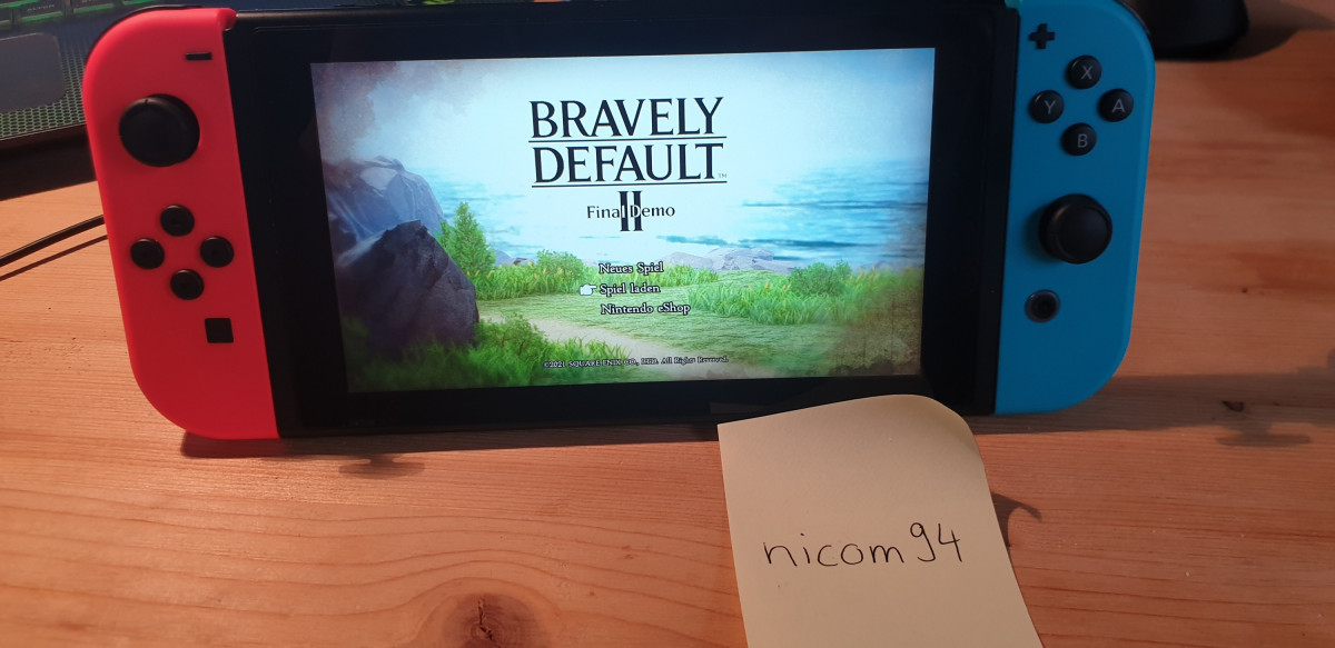 Gewinnspiel Bravely Default II nicom94