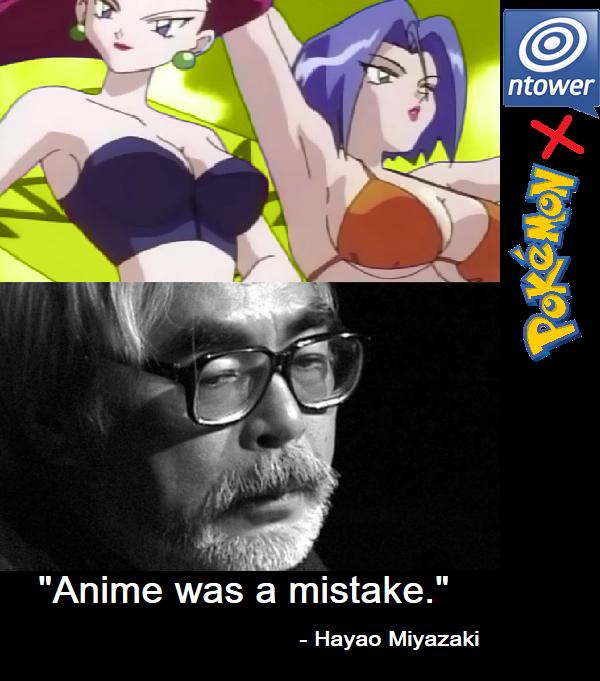 Anime was a mistake