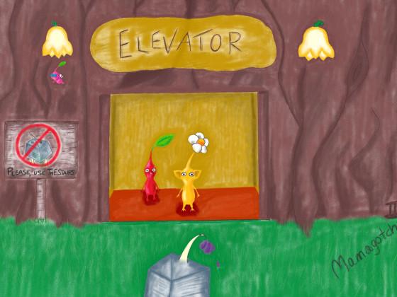 Pikmin Elevator