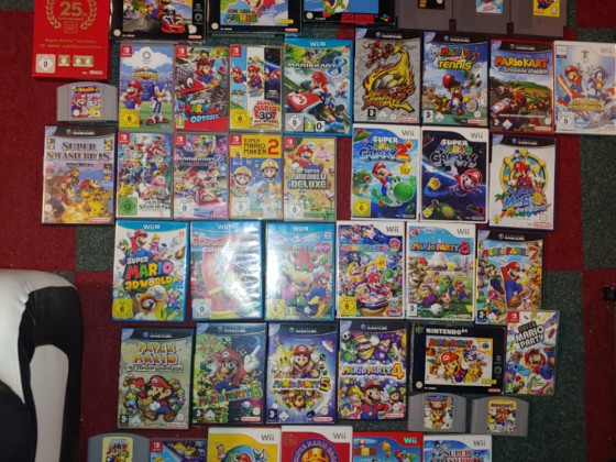 Gruffti's Mario Sammlung