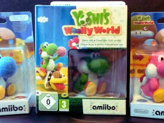 Yoshi's Woolly World amiibo Edition + Yoshi's Woolly World Collection