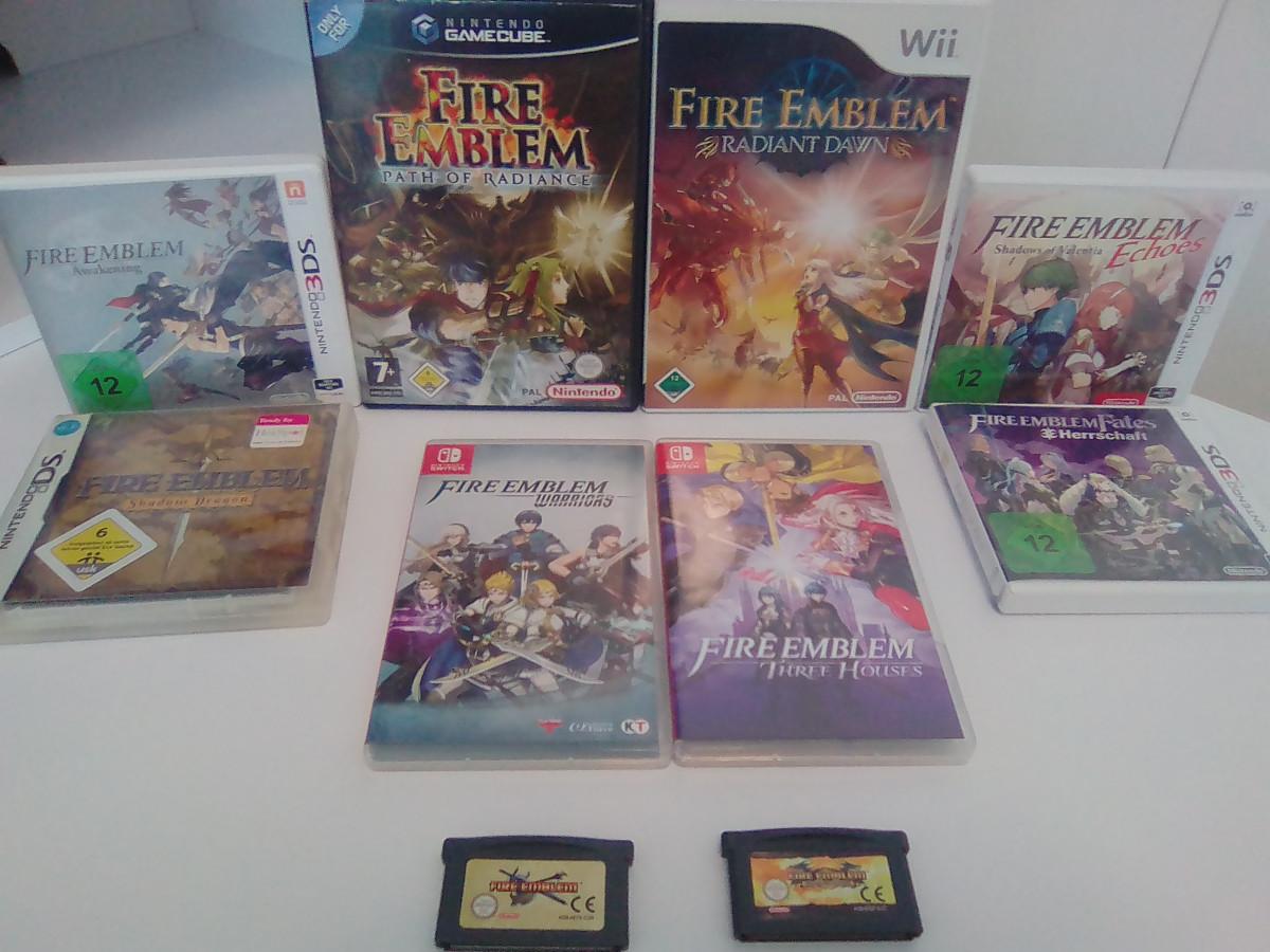 Fire Emblem Sammlung