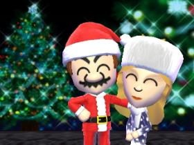 Weihnachtliche Zusammenkunft der Nintendo Helden