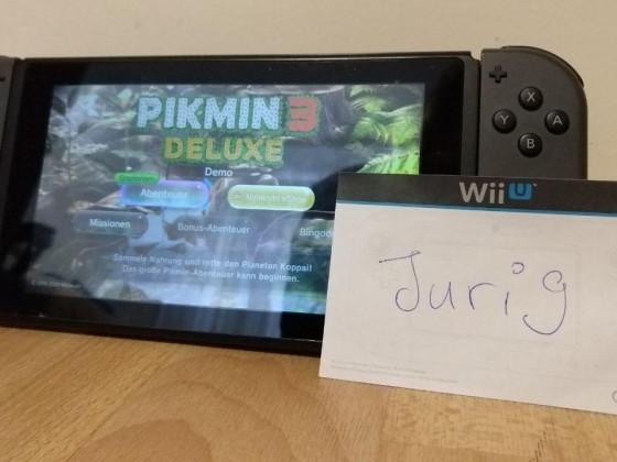 Pikmin 3 Deluxe Demo (für's Gewinnspiel)