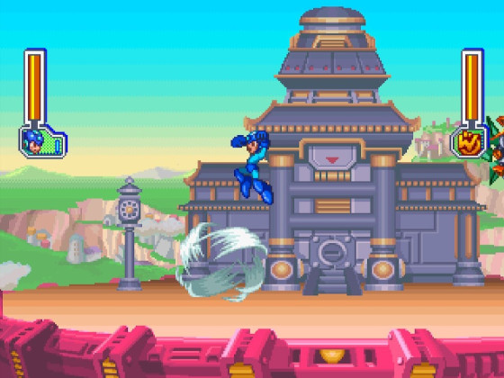 Mega Man 8 Tengu Man 1
