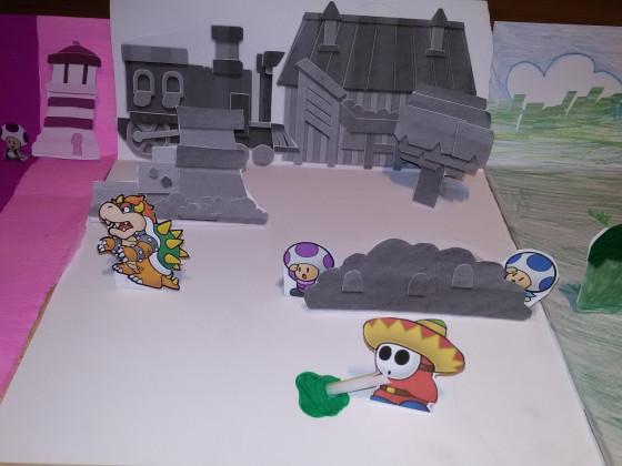 Paper Mario Color Splash Bastel Gewinnspiel 4 - Chefe