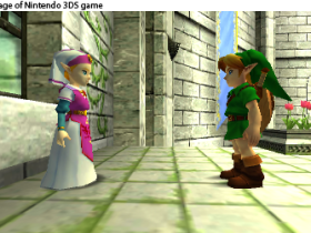 The Legend of Zelda Ocarina of Time 3D (3DS) Bilder