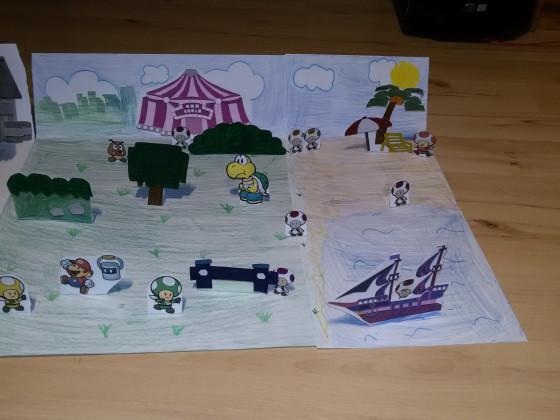 Paper Mario Color Splash Bastel Gewinnspiel 2 - Chefe