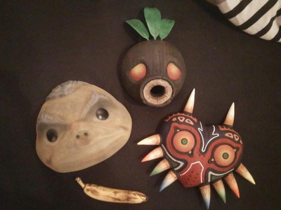 Masken aus Majoras Mask