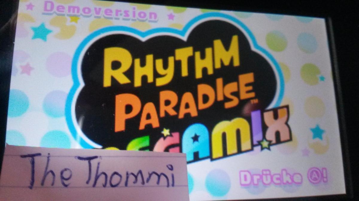 Rhythm Paradise Megamix-Gewinnspiel