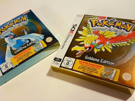 Pokemon Gold & Silber