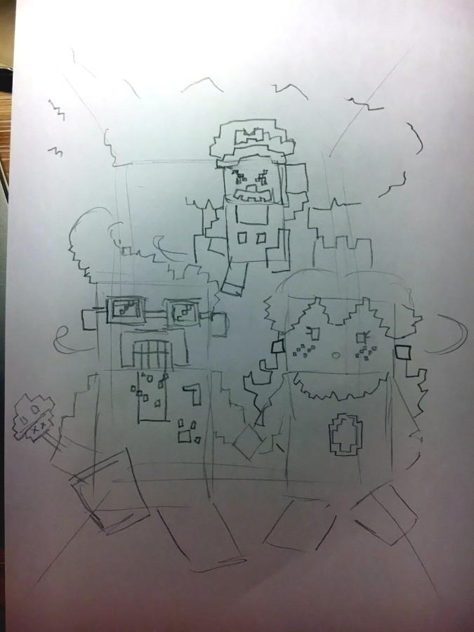 Touryst Zeichnung für Gewinnspiel (SKIZZE 2)
